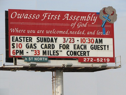 Free Gas Card for Easter