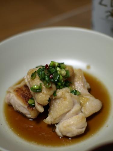 047 鶏のモモ肉の香味ソース