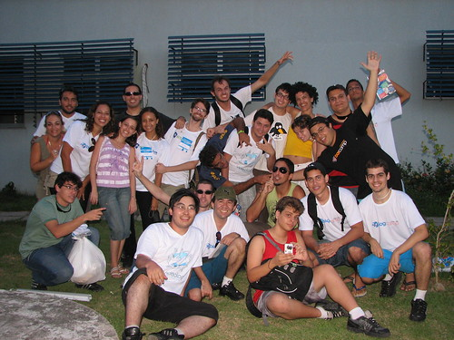 Foto oficial do BlogCamp ES