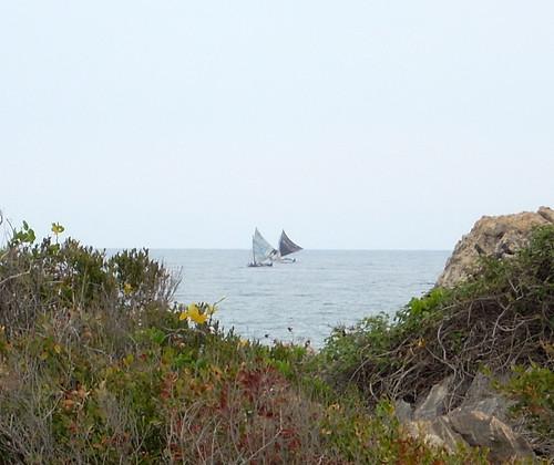 Haitian Charcoal Boats