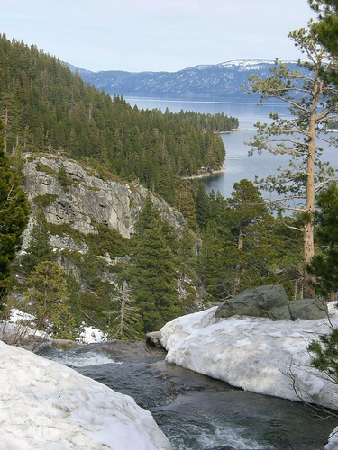 Eagle Falls to Lake Tahoe