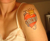 New Tattoo!!!! Fake tattoo #6..........so