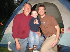 Three generations of campers