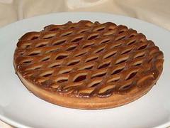 Сетка на пироге