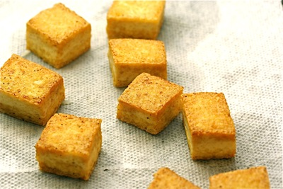 golden tofu