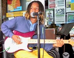 The Blues Will Never Die ~ WATCH: (Shein Die) Tags: blues jukejointfestival omargordon portrait guitar festival