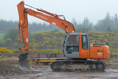 Hitachi Zaxis 130 LCN Hydraulic Excavator (Shane Casey CK25) Tags: hitachi zaxis 130 lcn hydraulic excavator digger himac county cork ireland construction building equipment earth moving gear machinery