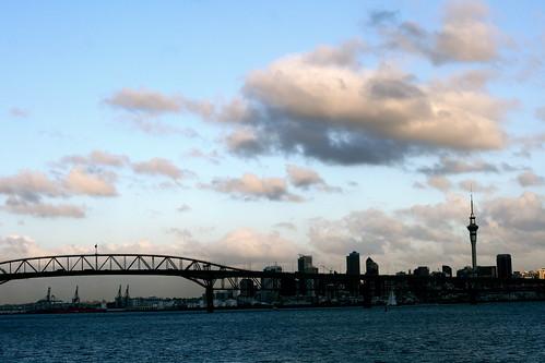 Friday: Auckland CBD at Sunset