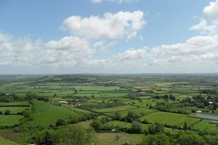 View from Glastonbury Tor (Twoshoes3) Tags: views somersetlevels isleofavalon glastonburytorglastonbury
