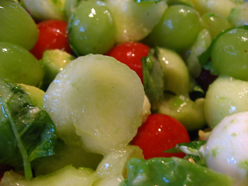 La première salade de l'été!