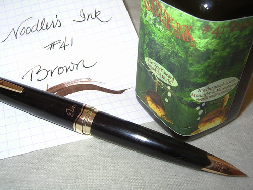 Noodler's Ink #41 Brown