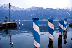 Lago di Garda (Jose A. Bejarano) Tags: lake mountains water puerto lago garda italia harbour embarcadero di dolomiti reflejos reflexes dolomitas