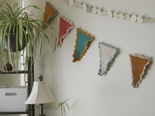 Crocheted Flags