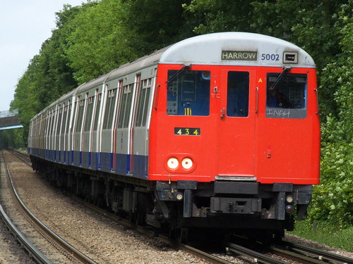 Metropolitan Line A stock at Chorleywood
