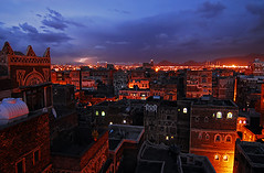Yem-Sanaa-0805-403-v1 (anthonyasael) Tags: old city nightphotography light cloud house building tower history horizontal architecture night clouds skyscraper buildings town cityscape gulf view crowd middleeast carving unesco worldheritagesite arab thunderstorm yemen lit sanaa residence residential oldtown thunder oldcity sana illuminate dwelling thunderous illuminating yem islamiccountry topb traveldestination arabianpeninsula arabcountry gulfcountries