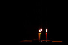 Happy Birthday (Ragawa) Tags: birthday iso800 candle f14 grainy nikkor50mmf14d indonesiaphotobloggers