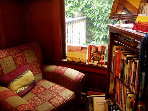 cozy crochet corner
