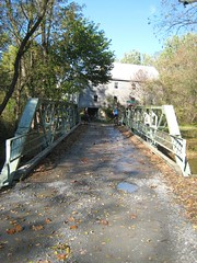 99 Year old bridge at McKinstrys Mill