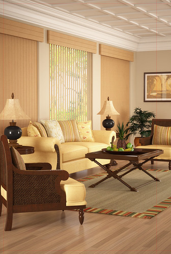 Harmonization of Interior and Living Room