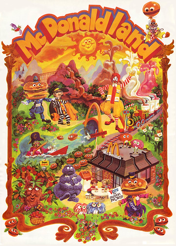 McDonalds - McDonaldland premium poster - Early 1970