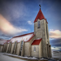 The Church in Winter (Stuck in Customs) Tags: pictures lighting winter light wallpaper panorama snow building art texture ice church colors beautiful lines modern composition work reflections painting square fun religious photography iceland amazing cool intense nikon perfect exposure shoot artist mood photographer shot angle bright photos vibrant unique background details religion perspective surreal atmosphere chapel images best holy edge processing stunning p