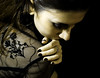 dedicated (merAtSpain) Tags: portrait black postprocessed girl digital back chica retrato negro nails espalda dedicated justbecause rominita playedwithcolours yoquierofotosp