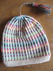 Mssa (*Skruddevutt*) Tags: hat stripes knitted mssa stickat rnder knitted07 stickat07