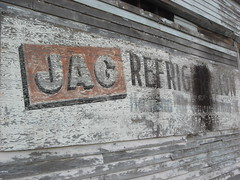 jag refrigeration (anthonyturducken) Tags: noah new usa sign architecture work us orleans louisiana paint hand handmade painted neworleans brush architectural made faded handpainted signage survey noahs fadedsignage noahsurvey neworleansarchitecturalhistory