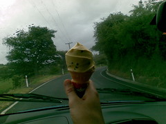 Icecream & rain