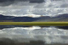 Plateau (Michael Bollino) Tags: world travel lake snow reflection nature water clouds landscape outdoors asia searchthebest plateau altitude tibet hills kailash specnature