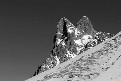 Pic du Midi d'Ossau depuis de Col de Liou