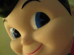 big boy has big eyes (sethnelson) Tags: boy macro big bobs