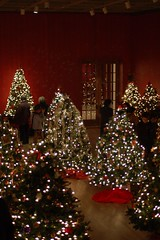 Christmas Trees at Musee de Beaux Arts