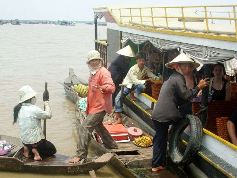 Sur l'eau-Vers Siem Reap (1)