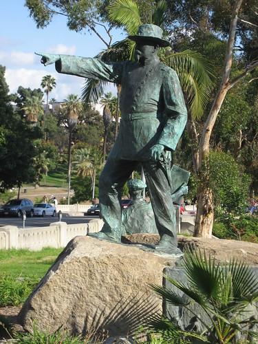 General Otis Statue, MacArthur Park