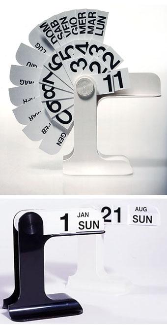 enzo mari: timor calendar