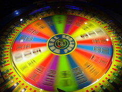 Wheel of fortune (pinion345) Tags: night tampa ybor yborcity