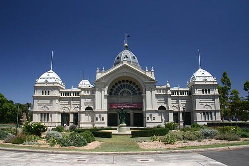 The Exhibition Building, Melbourne.