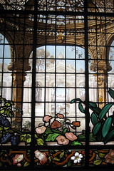 NYC - MCNY - Leaded Glass Window