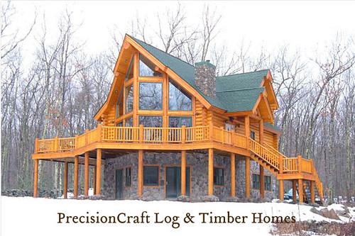 Exterior Design of PrecisionCraft Log Homes