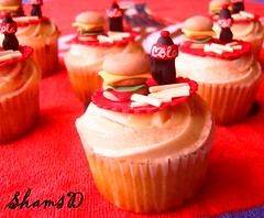Order for 15 (~Trs Chic Cupcakes by ShamsD~) Tags: red by cupcakes candy cola burger fries tres chic sweettreats designercupcakes shamsd shamimadesai madeinsouthafrica cupcakesinsouthafrica cupcakesfromsouthafrica cupcakesinpietermaritzburg weddingcupcakesinsouthafrica weddingcupcakesinpietermaritzburg