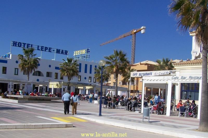 plaza lepe mar