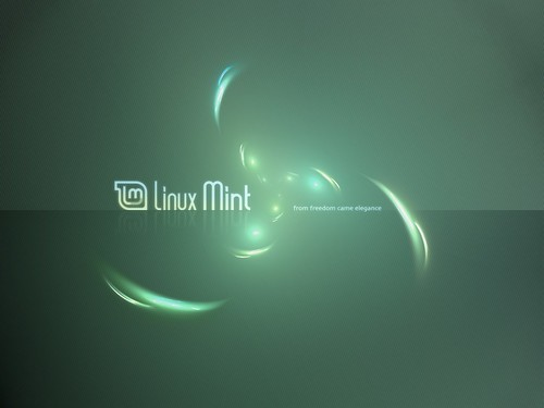 linux desktop wallpaper. Linux Mint desktop wallpaper