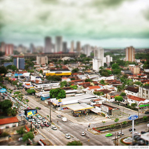 Av. Abdias de Carvalho ( Tilt-Shift )