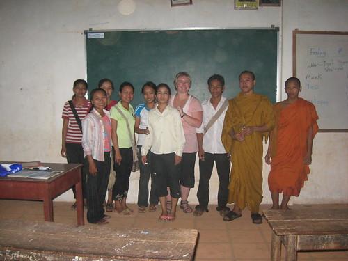 English School At Wat Damnak