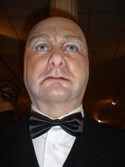 Winston Churchill (adoublec) Tags: starwars blackpool 007 tussauds jamesbond davidbeckham waxworks louistussaudswaxworks