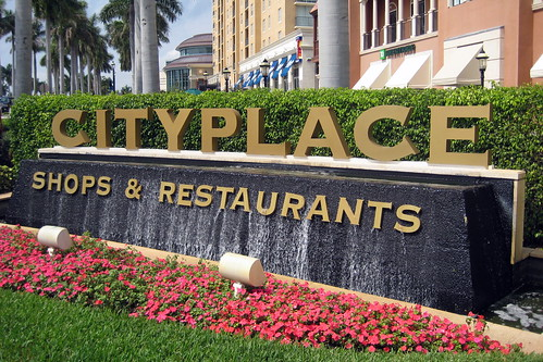Florida - West Palm Palm Beach: CityPlace