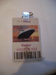 My Security Pass (Fiona Forsyth (Bendigo Lioness)) Tags: cruise boat ship luxury cunard queenvictoria oceanliner qv queenvic worldcruise