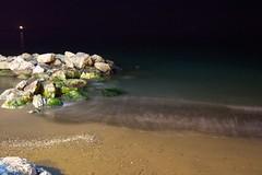 Noche de mar en calma