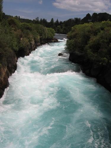 Huka Falls at Waikato River